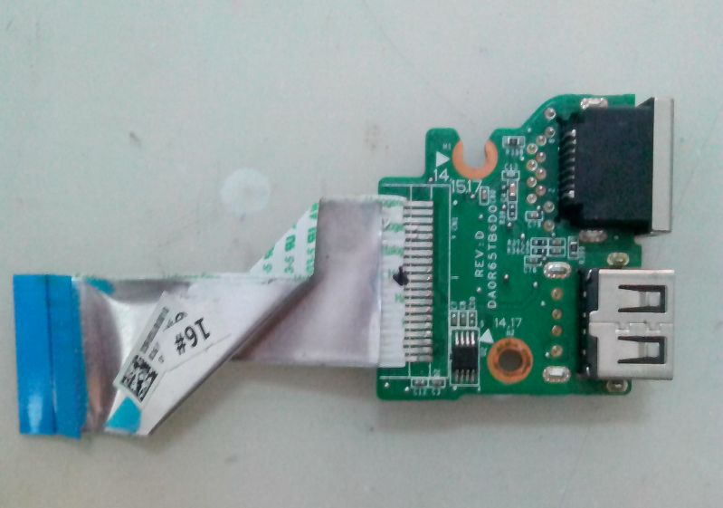 HP Pavilion 15-E Usb Kart Ethernet Lan Port