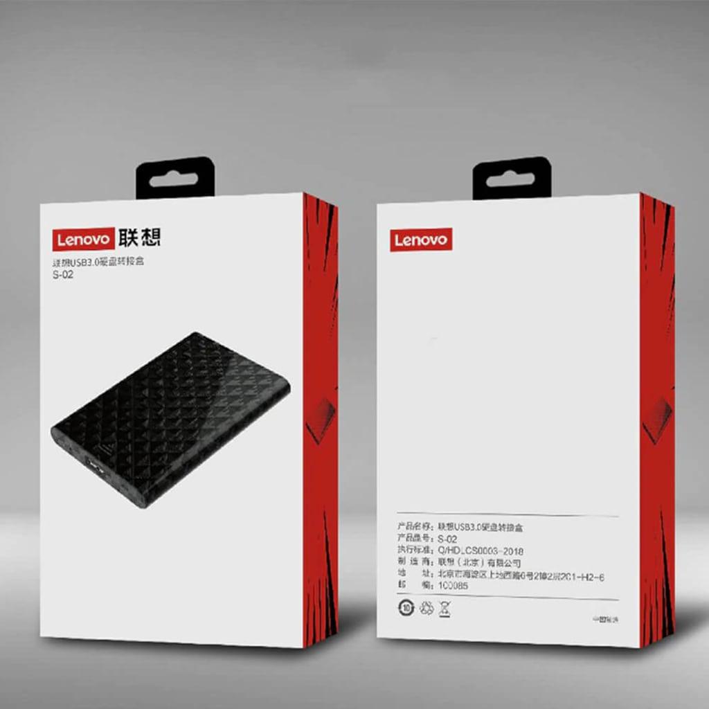 LENOVO 1TB USB 3.0 Siyah Harici Taşınabilir Disk